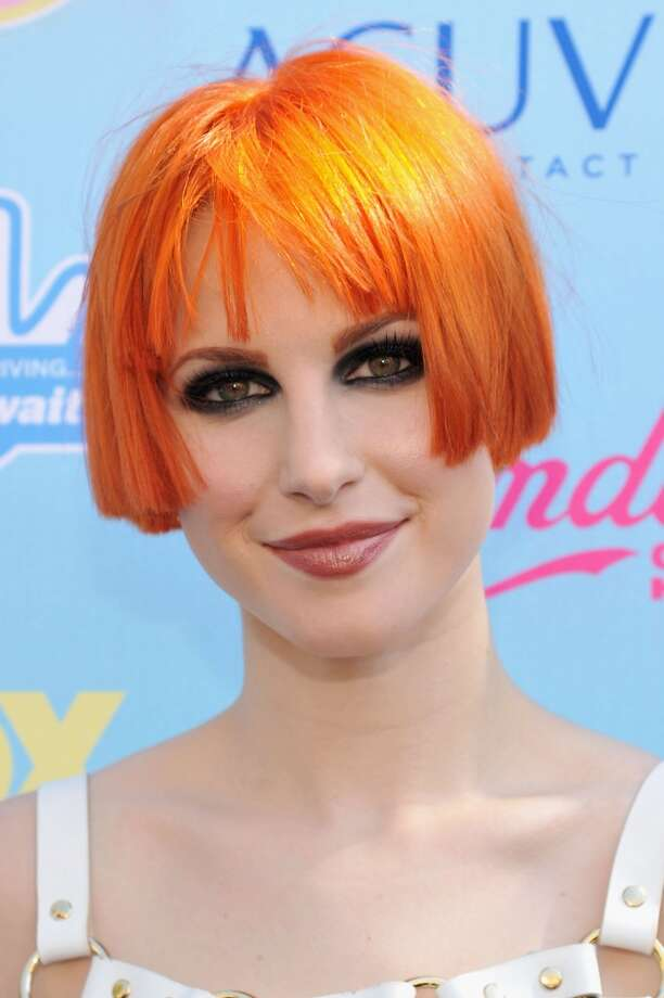 Singer/song writer Hayley Williams of Paramore attends the 2013 Teen Choice Awards at Gibson Amphitheatre on August 11, 2013 in Universal City, California.  (Photo by Kevin Mazur/WireImage) Photo: Kevin Mazur, WireImage
