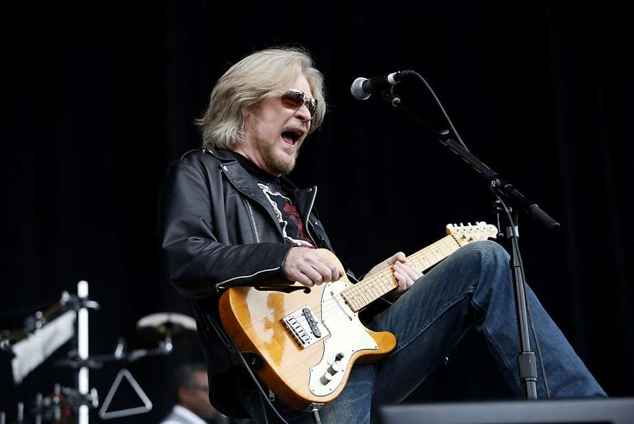 Daryl Hall of Hall and Oates performs on the last day of the Outside Lands Music and Arts Festival in Golden Gate Park. Photo: Katie Meek, The Chronicle