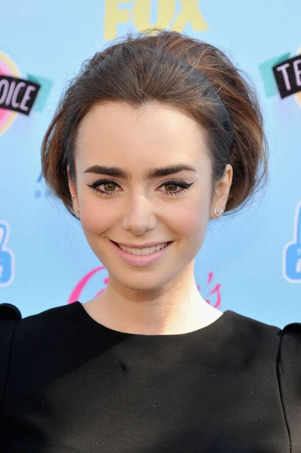Actress Lily Collins attends the 2013 Teen Choice Awards at Gibson Amphitheatre on August 11, 2013 in Universal City, California.  (Photo by Kevin Mazur/WireImage) Photo: Kevin Mazur, WireImage