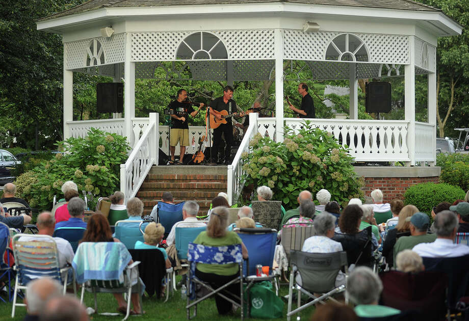 The Sherman Green Gazebo in Fairfield is a lively place every summer  during the summer concert series. The fun continues this Sunday. Check out the lineup.  Photo: Brian A. Pounds / Connecticut Post
