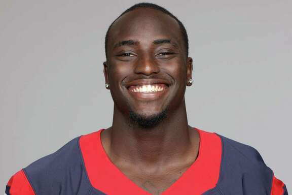 This is a 2013 photo of Cierre Wood of the Houston Texans NFL football team. This image reflects the Houston Texans active roster as of Thursday, June 20, 2013 when this image was taken. (AP Photo)
