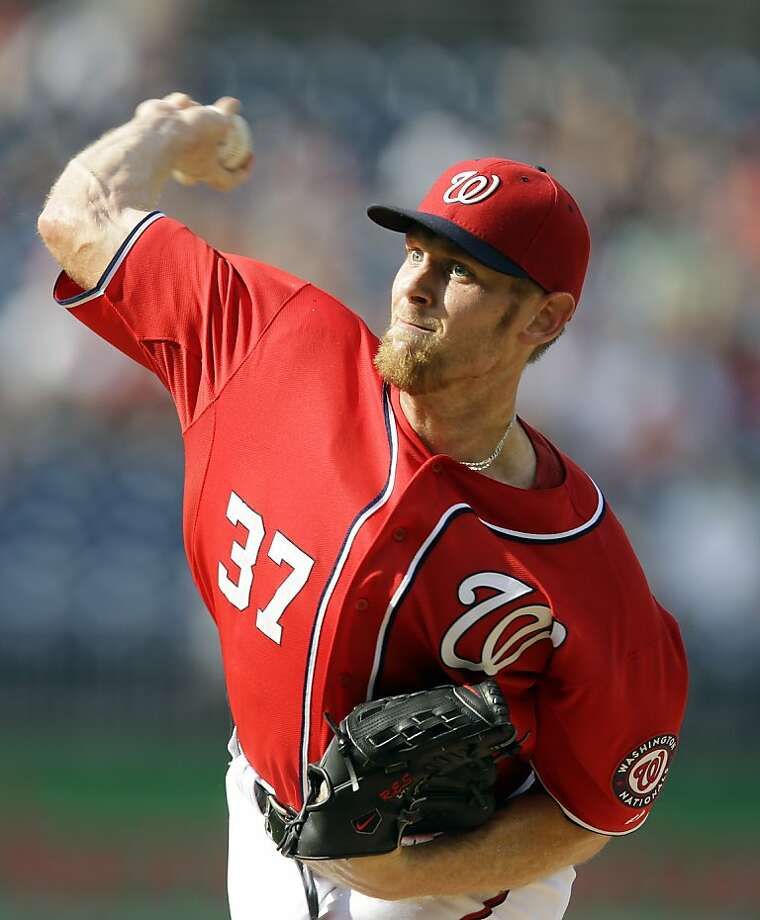 Stephen Strasburg Photo: Alex Brandon, Associated Press