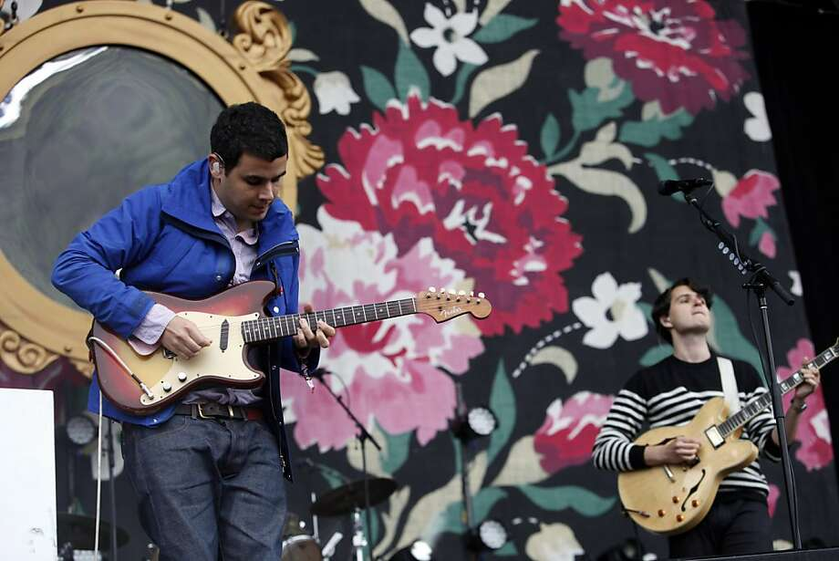 Rostam Batmanglij of Vampire Weekend performs at the Outside Lands Festival in San Francisco, Calif. on Sunday, August 11, 2013. Photo: Katie Meek, The Chronicle