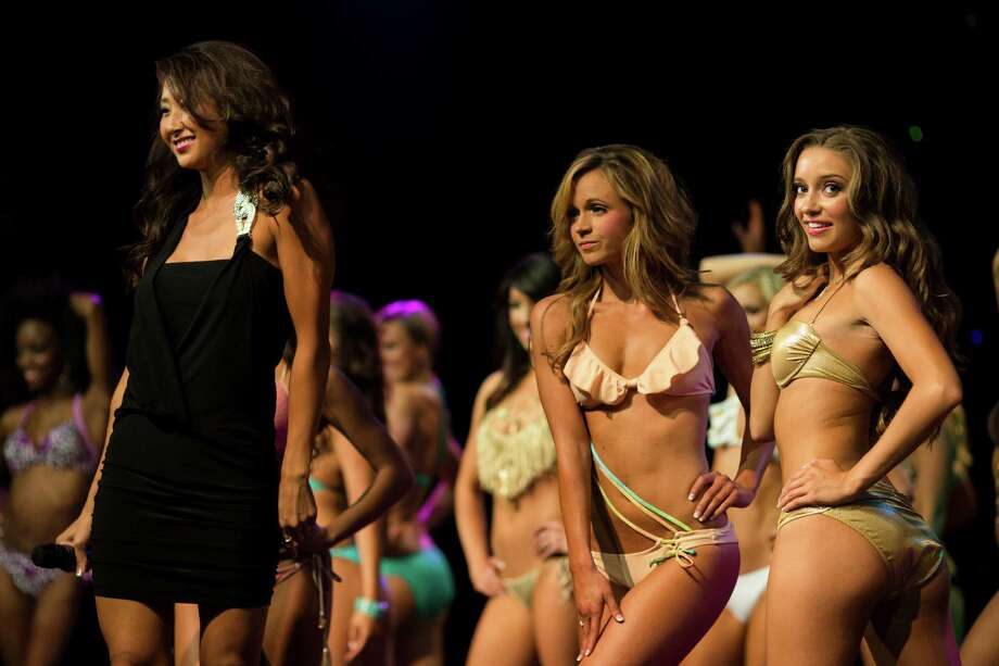 Hundreds packed into The Triple Door to experience the Sea Gals 2014 calendar unveiling event Sunday, August 11, 2013, in Seattle. Photo: JORDAN STEAD, SEATTLEPI.COM / SEATTLEPI.COM