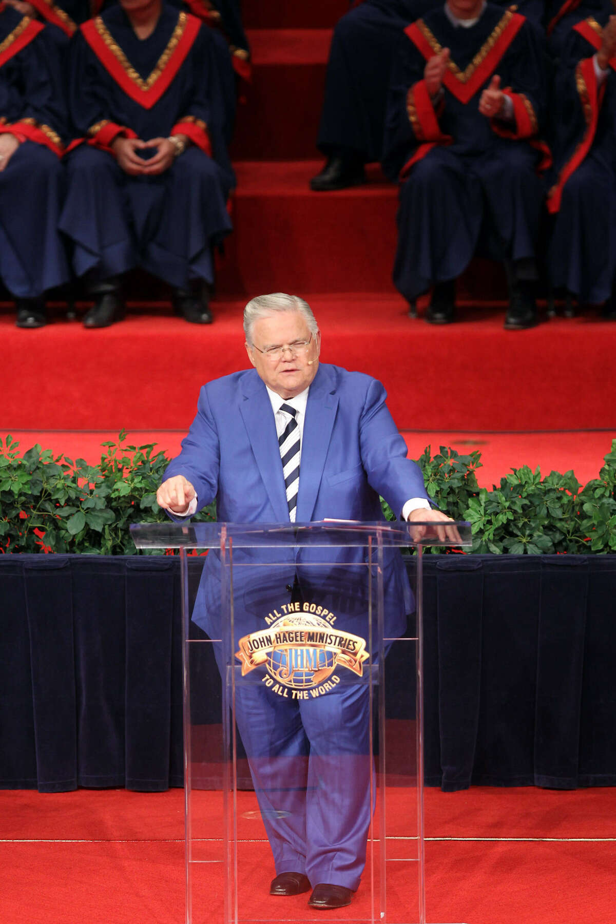 Pastor John Hagee had spoken against the proposed ordinance from the pulpit Aug. 4 and again on the Glenn Beck talk show Aug. 5.