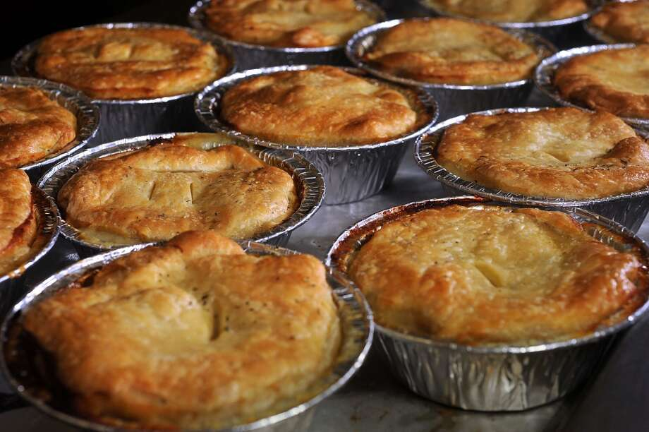 Chicken pot pies at Jack's Pak-It. Photo taken Tuesday, July 30, 2013 Guiseppe Barranco/The Enterprise Photo: Guiseppe Barranco/The Enterprise
