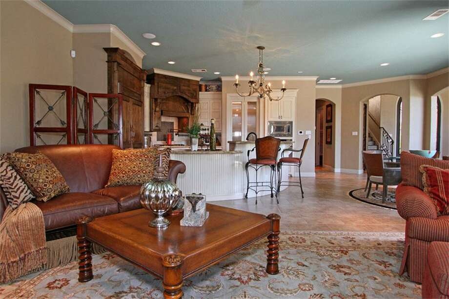 This gorgeous home sits on Lake Conroe and features four bedrooms and three bathrooms in more than 4,700 square feet of living space. The asking price is $1.4 million. 