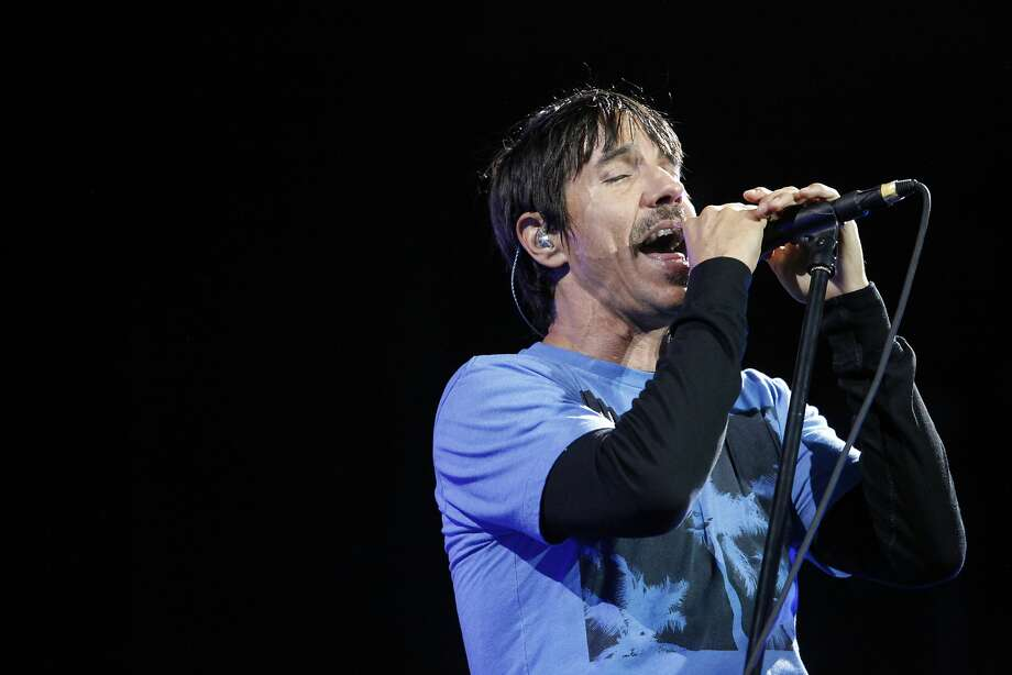 Anthony Kiedis of Red Hot Chili Peppers perform at the Outside Lands Festival in San Francisco, Calif. on Sunday, August 11, 2013. Photo: Katie Meek, The Chronicle