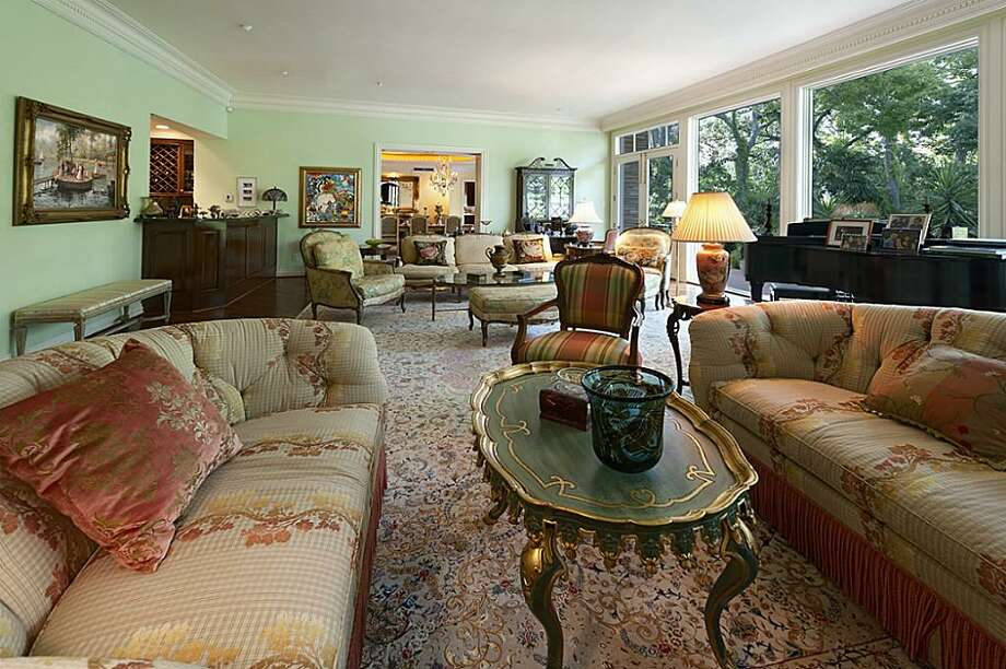 This River Oaks estate features three bedrooms and eight full bathrooms in more than 11,000 square feet of living space. The asking price is $14.5 million.See the listing here.