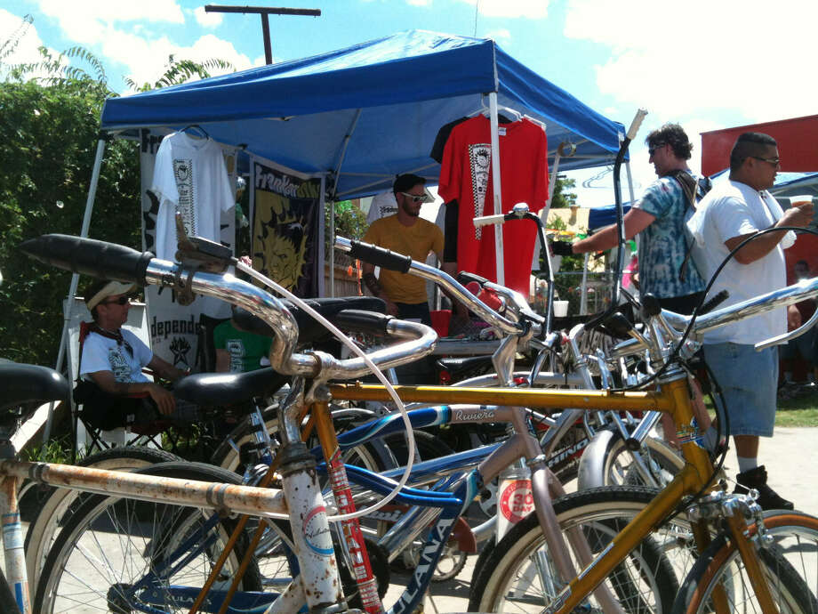 FrankenBike, an organization running free monthly cyclist swap meets, will meet at 10 a.m. Saturday at Red-D Bikes, 120 Playmoor St. Photo: Courtesy Photo