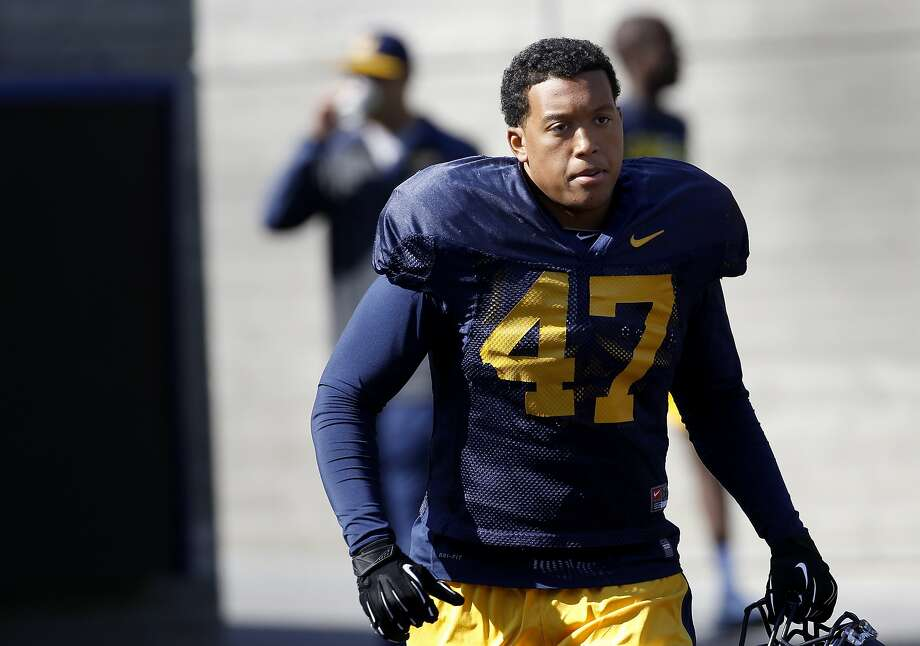 Cal linebacker Hardy Nickerson ranked third on the team with 69 tackles last season. Photo: Brant Ward, The Chronicle