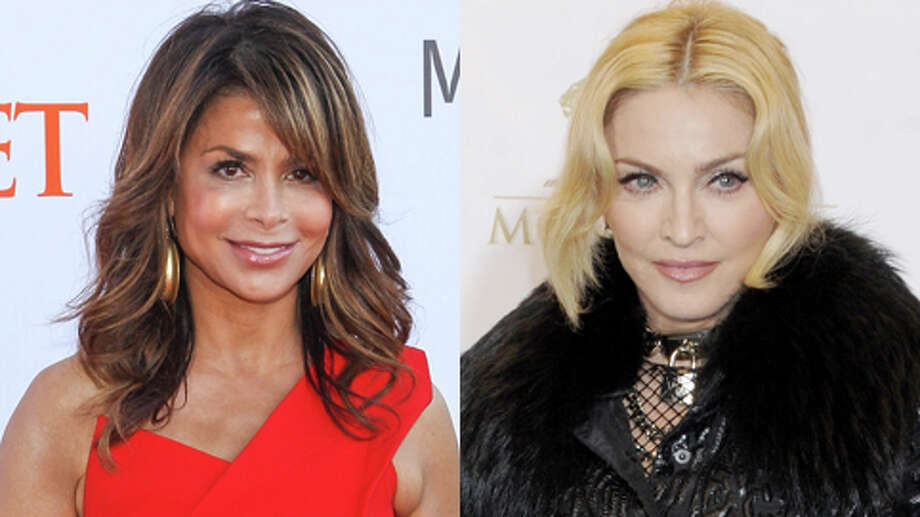 Madonna, who turns 55 this week, is older. Paula Abdul is 51.