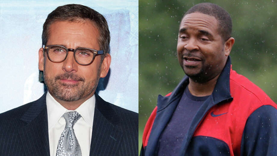 They both have birthdays this week, but Steve Carell is older. He's turning 51, while Sir Mix-A-Lot turns 50.