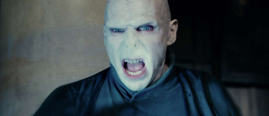 "Harry Potter's arch nemesis, Voldemort, was reborn in ""Harry Potter and the Goblet of Fire."" Unfortunately, he lost all his hair... and his nose. Photo: Courtesy Of Warner Bros Pictures"