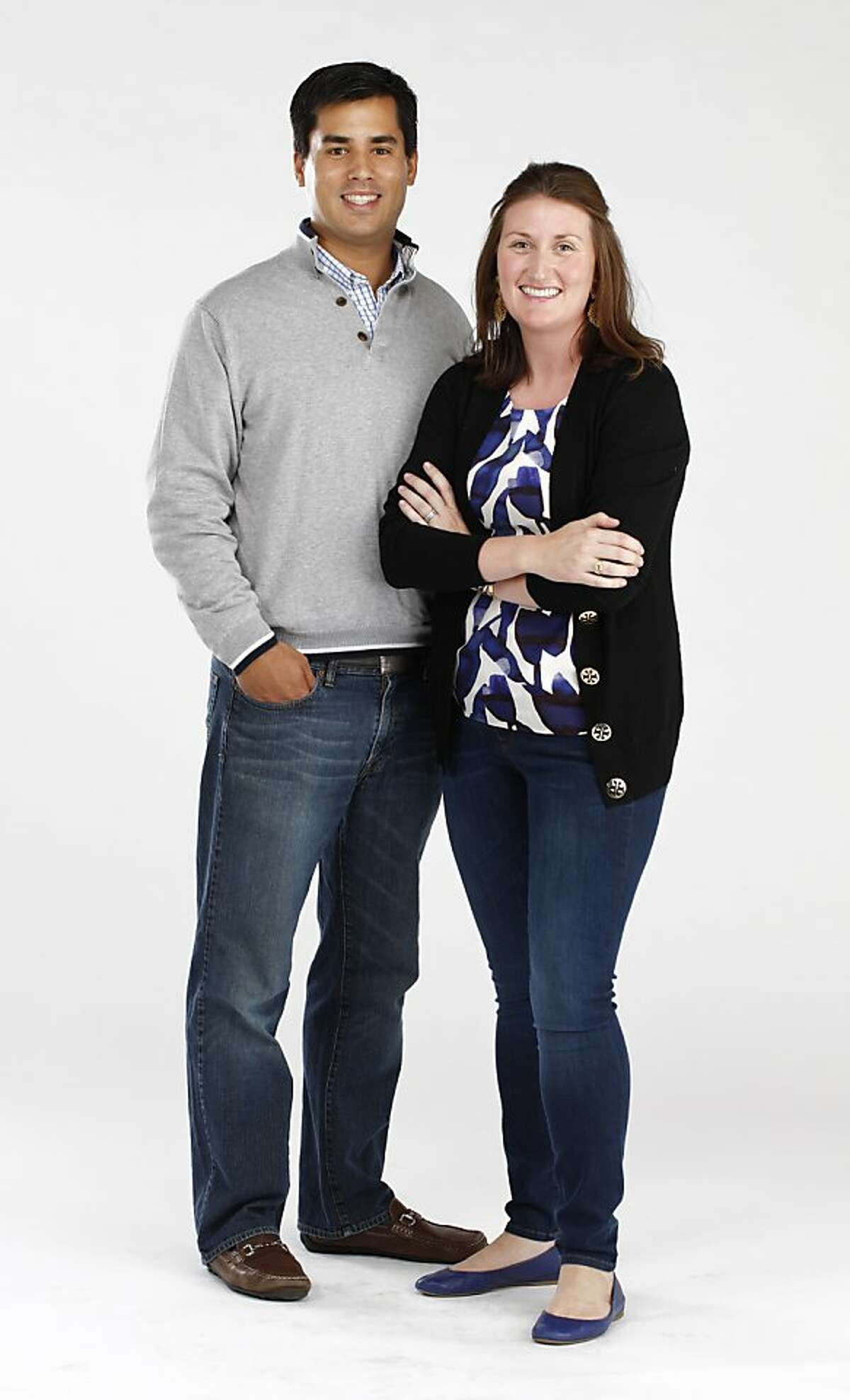 Matt and Chrissy Droessler, seen on Tuesday, July 30, 2013 in San Francisco, Calif., are in this week's Stylemaker Spotlight.