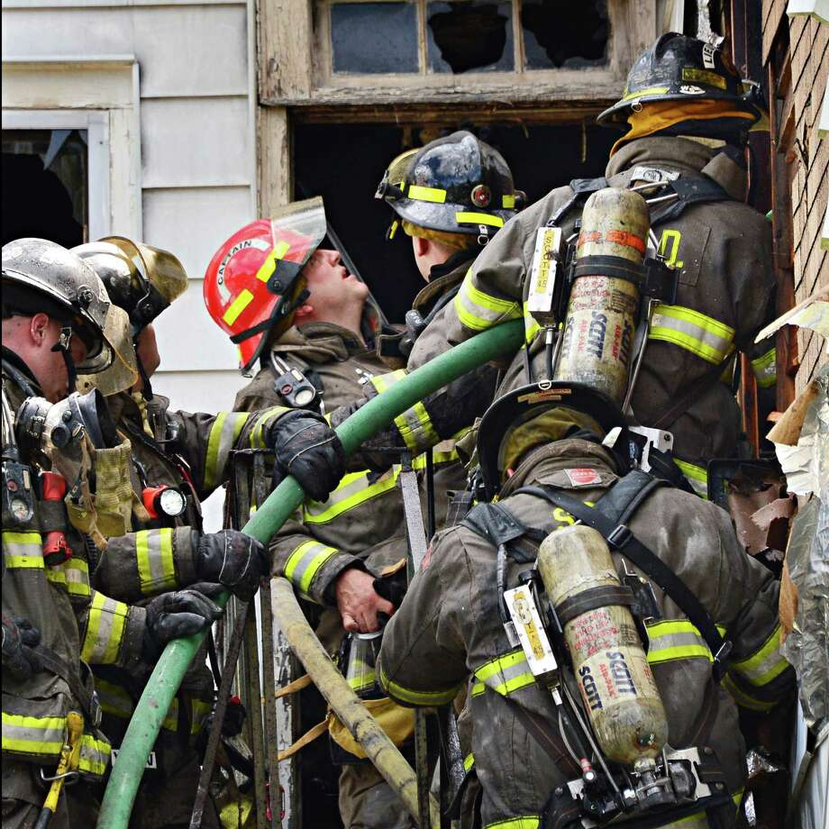 """3. FirefighterWhy it is stressful: """"The U.S. Fire Administration reported 81 on-duty fatalities in 2011 and 77 in 2012, making this one of the most dangerous career paths.""""Source:CareerCast Photo: John Carl D'Annibale"""