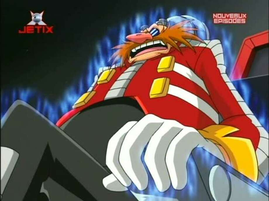 """Doctor Eggmanis the main antagonist of the """"Sonic the Hedgehog"""" video game series. An evil scientist, although he has no hair, he has enough of a mustache to make up for it.  Photo: Internet"""