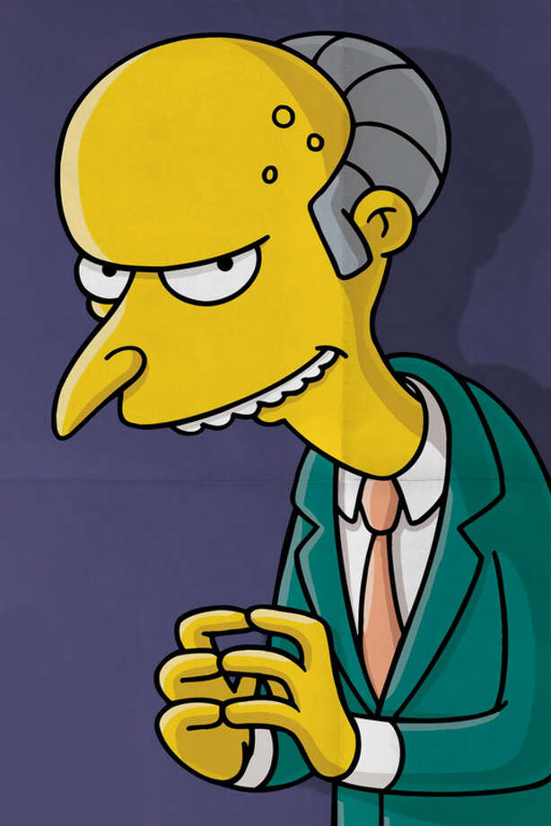 Mr. Burns of TV's 'The Simpsons' is a pretty mean and conniving boss.  Photo: Internet