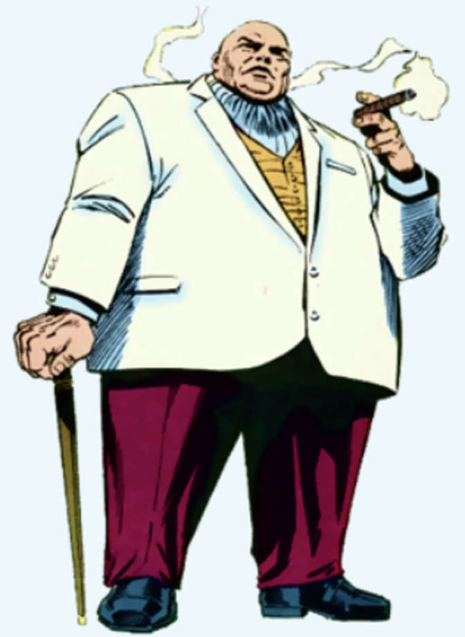 Spider-Man is but one of the fictional foes that Kingpin faces in the Marvel Universe. The mafia boss also faces Daredevil and The Punisher. Photo: Internet