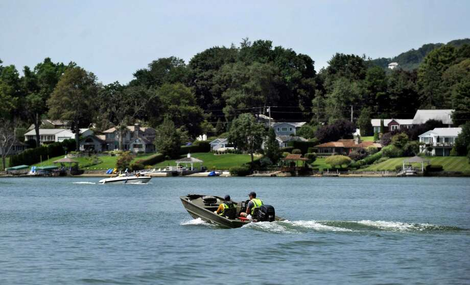 Candlewood Lake in Brookfield, Conn., Monday, August 12, 2013. Photo: Carol Kaliff / The News-Times