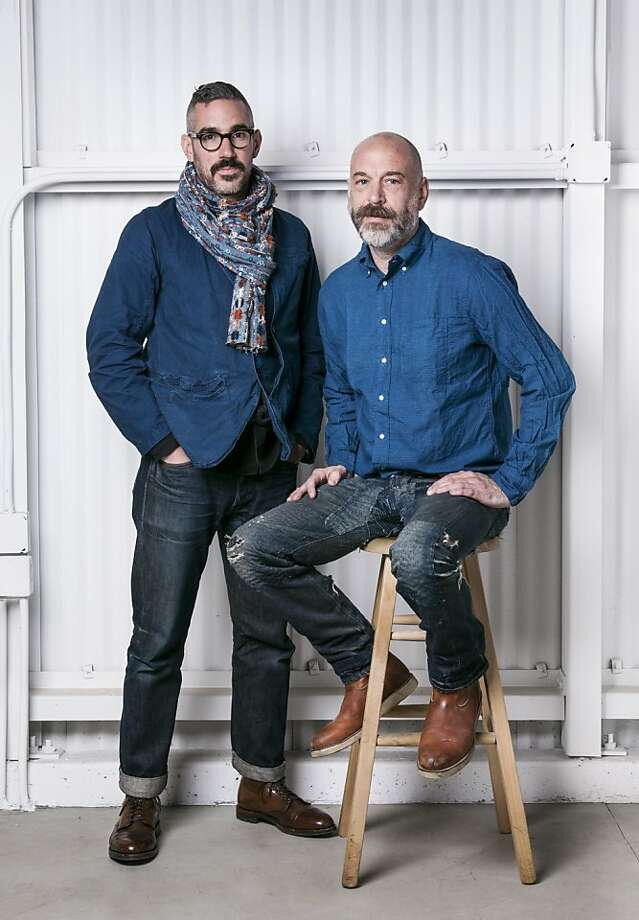"""Unionmade pair Todd Barket and Carl Chiara are among the self-portraits from Levi's aficionados from around the globe in """"Levi's 501 Interpretations,"""" a new book that celebrates the jeans' 140-year history. Photo: Francesco Carrozzini, Levis 501 Interpretations"""