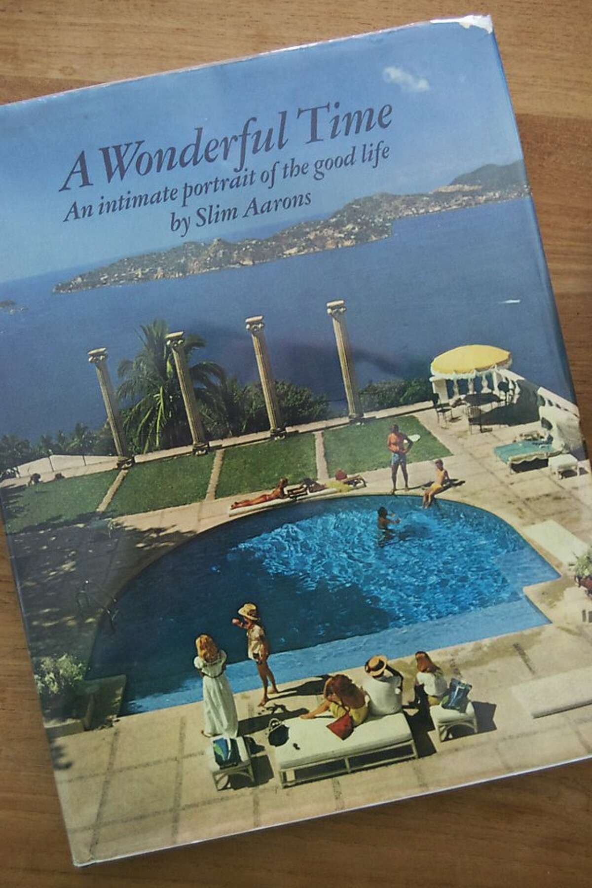 Slim Aarons book: A Wonderful Time: An Intimate Portrait of the Good Life is an amazing coffee table book published in 1974. It features pictures of elegant homes from elite enclaves across the U.S. and Caribbean. It is certainly aspirational; but more than anything, it is a fun glimpse into a bygone era.