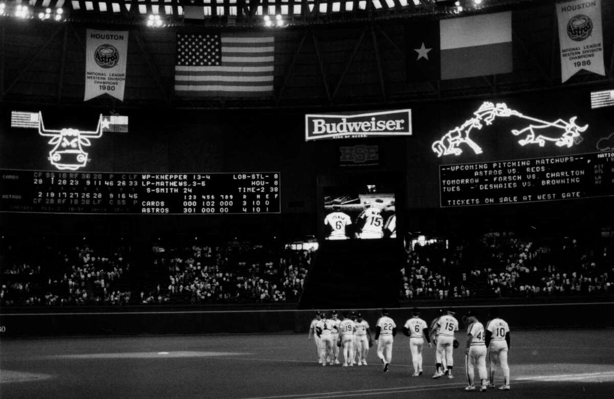 The exploding electronic scoreboard that sparkled in the Astrodome from 1965 to 1988 was a signature of the so-called