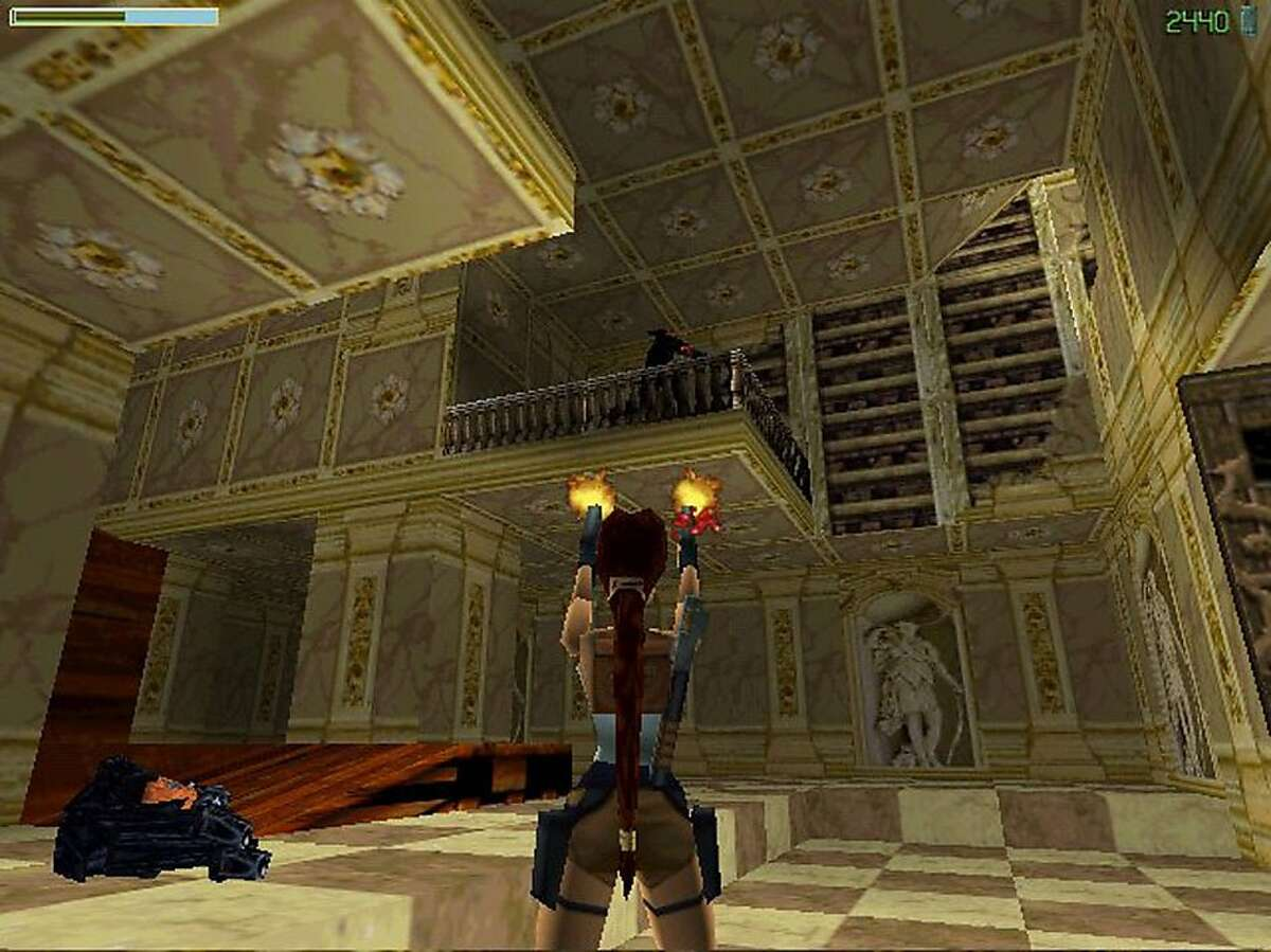 TOMB RAIDER1/C/12DEC97/DD/HO-This is a screeshot from the game TOMB RAIDER. HANDOUT
