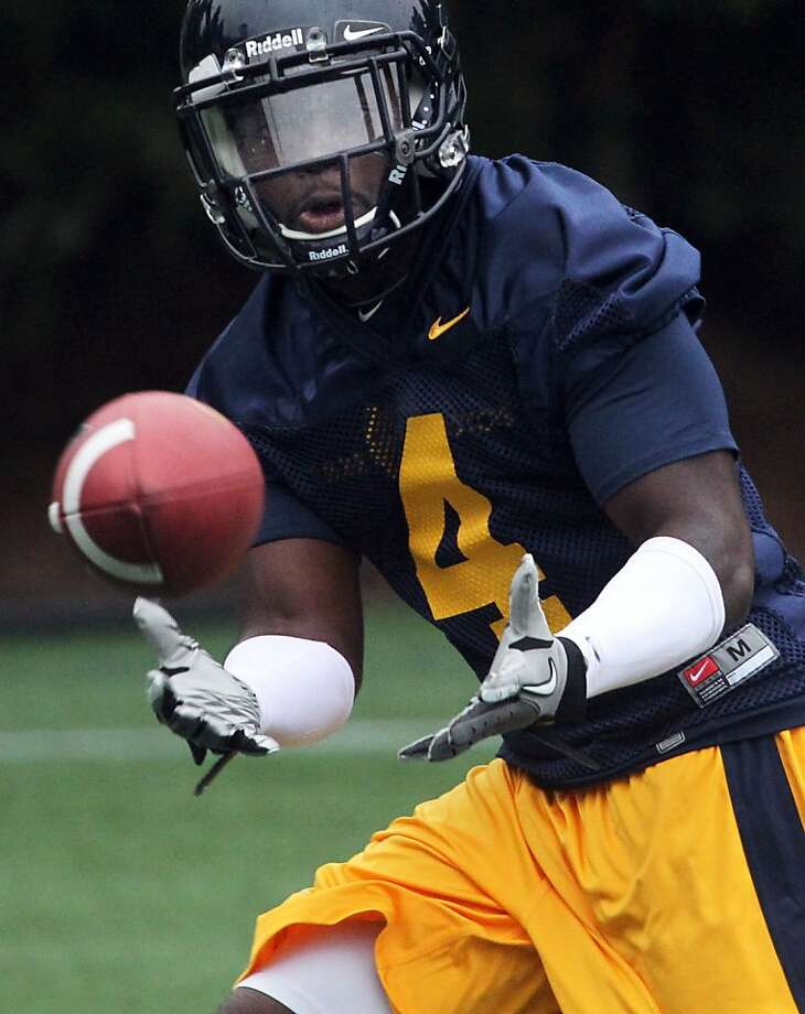 University of California defense back Avery Sebastian practices with the Cal Bears football team on Witter Rugby Field on the Cal Campus on Saturday August 4, 2012. In Berkeley, Calif. Photo: Lance Iversen, The Chronicle