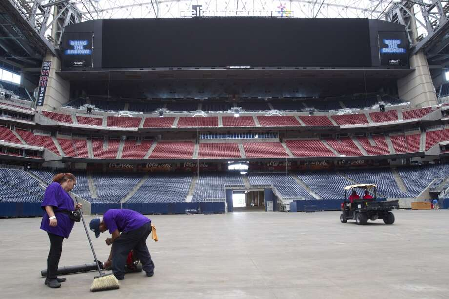 Reliant StadiumThe boards will be put in action Saturday as the Texans host the Miami Dolphins in preseason play. Photo: Brett Coomer, Houston Chronicle
