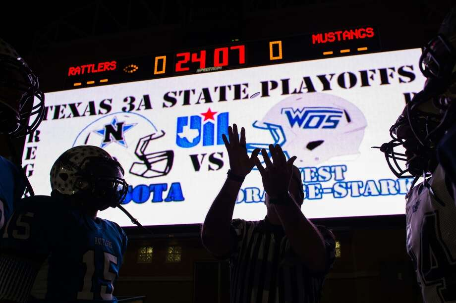 Humble's Turner StadiumThe scoreboard makes Turner Stadium a playoff destination. Photo: Smiley N. Pool, Houston Chronicle
