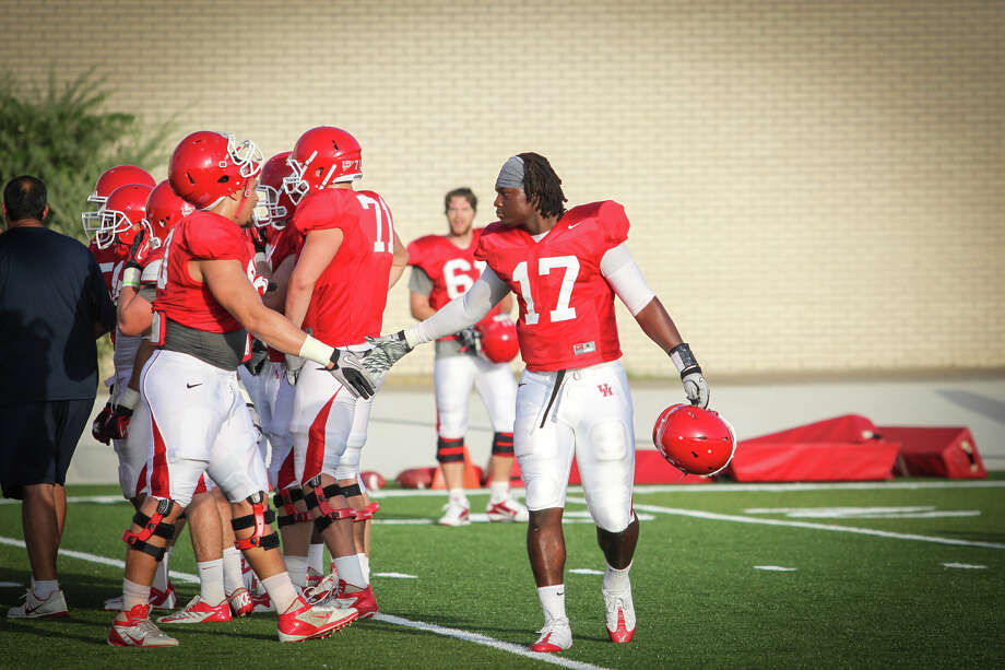 Freshman Chauntez Jackson will receive playing time on offense and defense. (Photo courtesy of University of Houston)