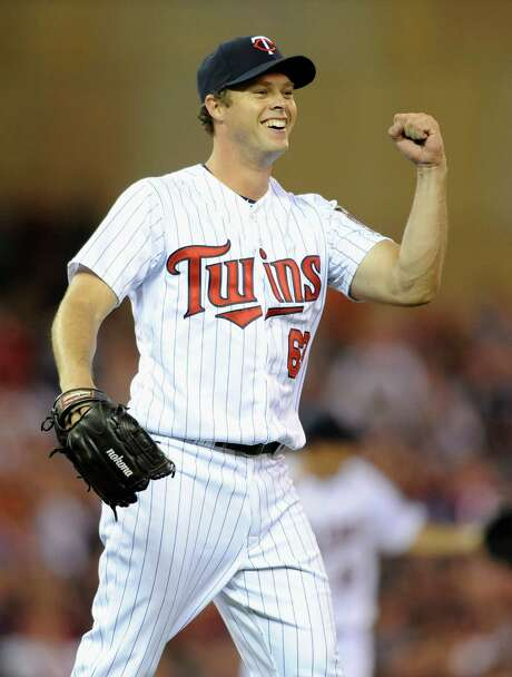 Andrew Albers one-upped himself Monday, tossing a two-hitter in his second career major league start. Photo: Hannah Foslien, Stringer / 2013 Getty Images