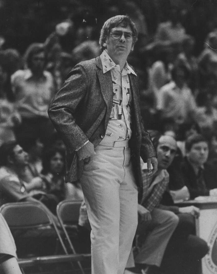 1974-1976 (ABA), Bob Bass: 83 wins-57 losses; Bass was the only coach to serve as Spurs head coach multiple, non-consecutive times. He moved to Spurs front office as GM at end of 1975-76 season, the Spurs' last with the ABA and Bass' last full-time coaching position. (San Antonio Express-News file photo)