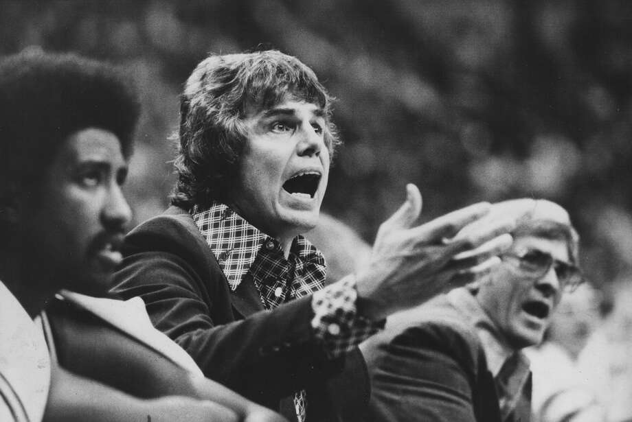 1976-1980, Doug Moe: 177 wins-135 losses; Moe, the Spurs' first NBA coach, was fired from what was his first NBA head coaching job near end of a slump that lasted the 1979-80 season. He became head coach of Denver Nuggets for 1980-81 season, and holds the record for second most Spurs victories as coach. (San Antonio Express-News file photo) Photo: San Antonio Express-News File Photo