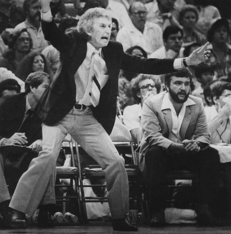 "1980-1983, Stan Albeck: 153 wins-93 losses; After some speculation, Albeck left the Spurs to become head coach of New Jersey Nets for 1983-84 season. At the time, his wife, Phyllis told the San Antonio Light, ""I don't know if [New Jersey's] a lock, but I know what is a lock — Stan won't be here next year."" (San Antonio Express-News file photo) Photo: San Antonio Express-News File Photo"
