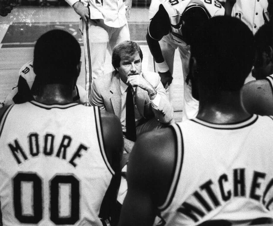 1983, Morris McHone: 11 wins-20 losses; With the Spurs in last place, McHone was fired in the middle of the 1983-84 season from his first and only NBA head coaching job. McHone's son, Kimble, is the head coach at Boerne High School, and his grandson, Griffin, was a point guard there. Read more about the McHones. (San Antonio Express-News file photo) Photo: San Antonio Express-News File Photo