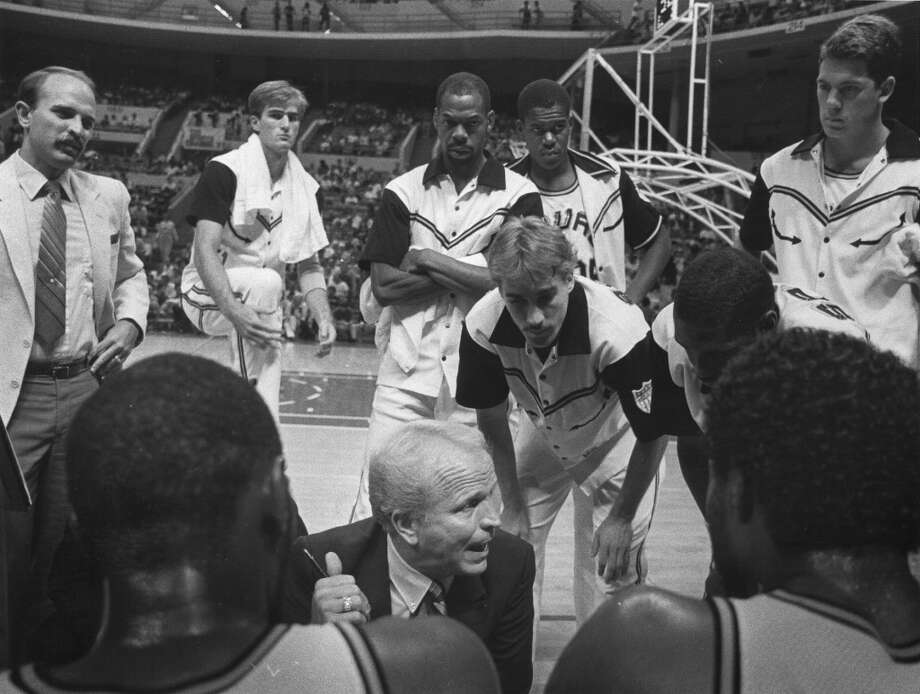 1984-1986, Cotton Fitzsimmons: 76 wins-88 losses; Fitzsimmons was fired by the Spurs at the end of 1985-86 season, despite making the playoffs. His next head coaching job was with Phoenix Suns in 1988. (San Antonio Express-News file photo) Photo: San Antonio Express-News File Photo