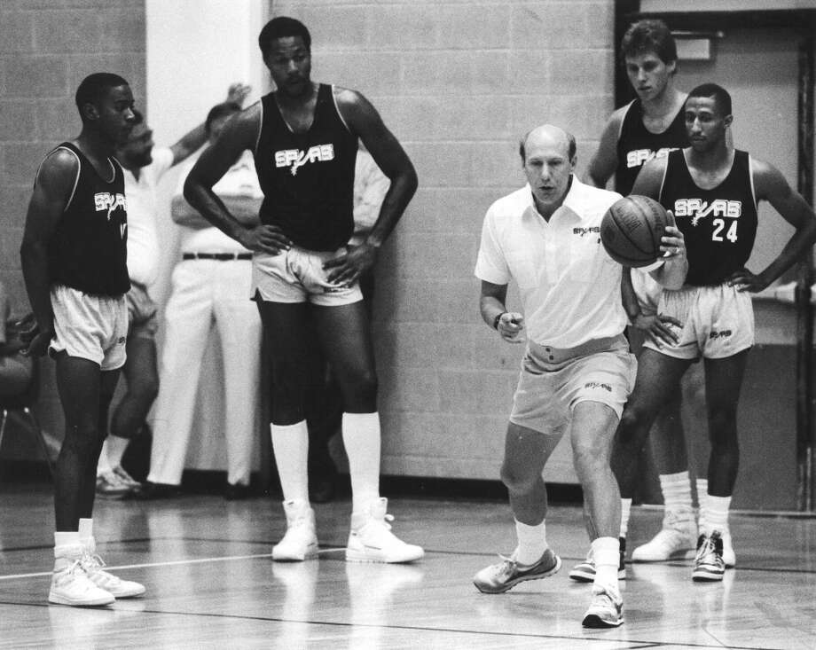 1986-1988, Bob Weiss: 59 wins-105 losses; Weiss was fired from his first NBA head coaching job at end of 1987-88 season, after two losing seasons in San Antonio. He was next served as head coach for the Atlanta Hawks in 1990. (San Antonio Express-News file photo) Photo: San Antonio Express-News File Photo