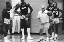 1986-1988, Bob Weiss: 59 wins-105 losses; Weiss was fired from his first NBA head coaching job at end of 1987-88 season, after two losing seasons in San Antonio. He was next served as head coach for the Atlanta Hawks in 1990. (San Antonio Express-News file photo)