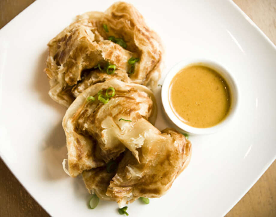 Roti Prata is available on Straits' HRW lunch menu.  Straits is located at 800 Sorella in CityCentre. For a complete list of Houston Restaurant Week restaurants, as well as menus and maps, go to houstonrestaurantweeks.com. Photo: Jack Thompson, Jack Thompson Photography 2009 / Jack Thompson Photography 2009