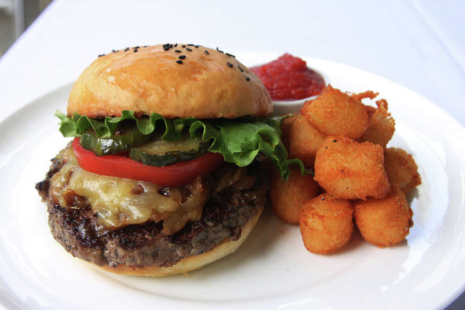This Akaushi Burger with tots and smoked ketchup is one of the entrees offered on Haven's $20 two-course lunch menu for HRW.  Haven is located at 2502 Algerian Way. For a complete list of Houston Restaurant Week restaurants, as well as menus and maps, go to houstonrestaurantweeks.com.