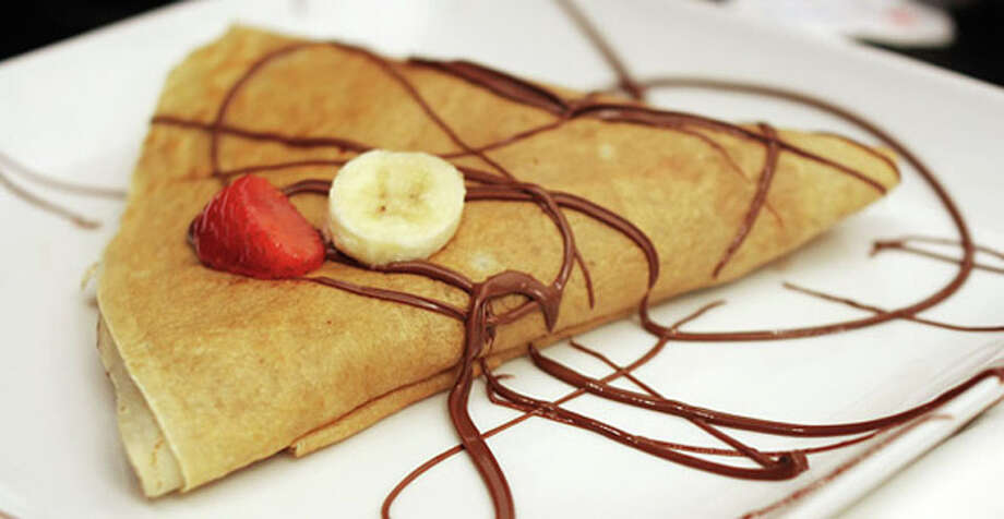 Crêpe au Nutella is one of the dessert options on Sale Sucre's $35 dinner menu.  Sale Sucre is located at 2916 White Oak Dr. in the Heights. For a complete list of Houston Restaurant Week restaurants, as well as menus and maps, go to houstonrestaurantweeks.com.