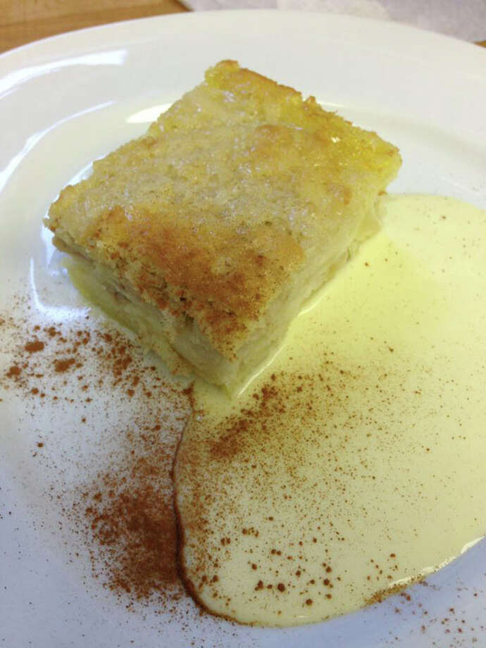 Swiss Apple Cake is one of the lunch dessert options at Au Petit Paris.  The restaurant is located at 2048 Colquitt.  For a complete list of Houston Restaurant Week restaurants, as well as menus and maps, go to houstonrestaurantweeks.com. Photo: Courtesy Photo, Au Petit Paris