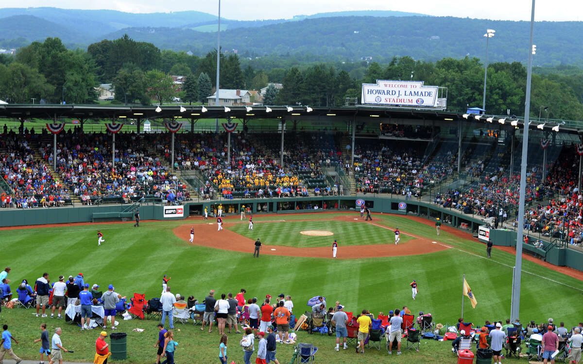 2012 Little League World Series game action between New England and Great Lakes in South Williamsport, Penn. on Monday August 20, 2012.