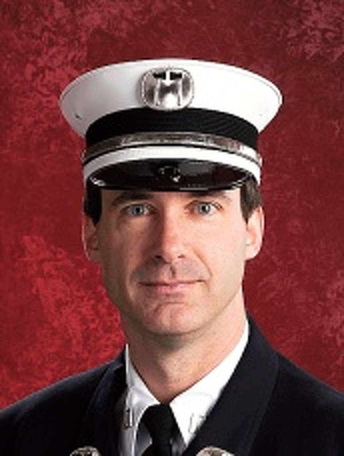 Schenectady Fire Department Captain John Nicol