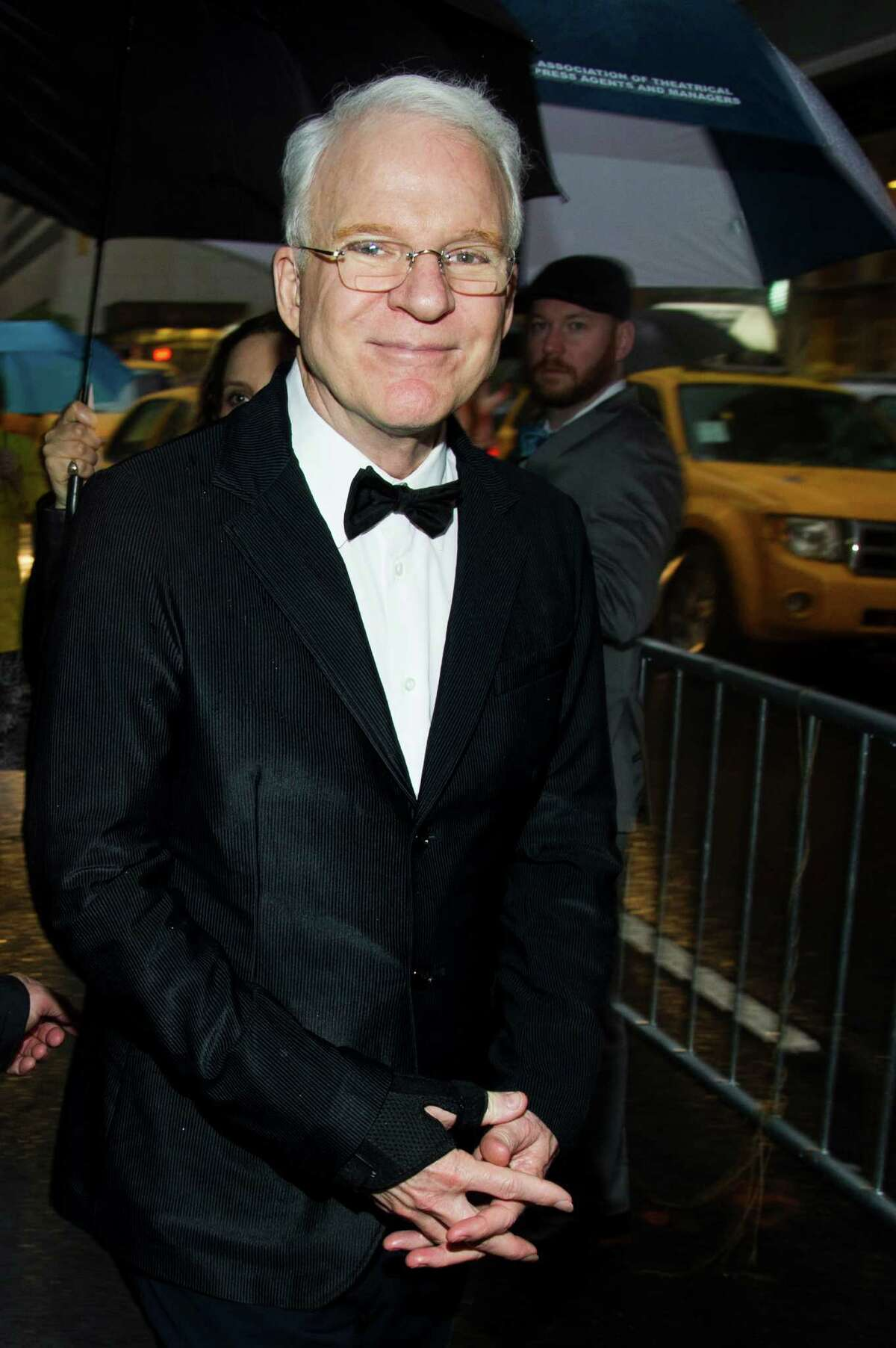 Steve Martin attends the 2013 Drama Desk Awards on Sunday, May 19, 2013 in New York. (Photo by Charles Sykes/Invision/AP)