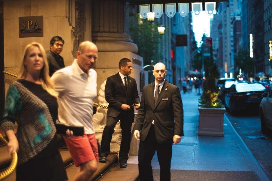 At the Peninsula in NYC Photo: Allen Henson, Www.allenhenson.com
