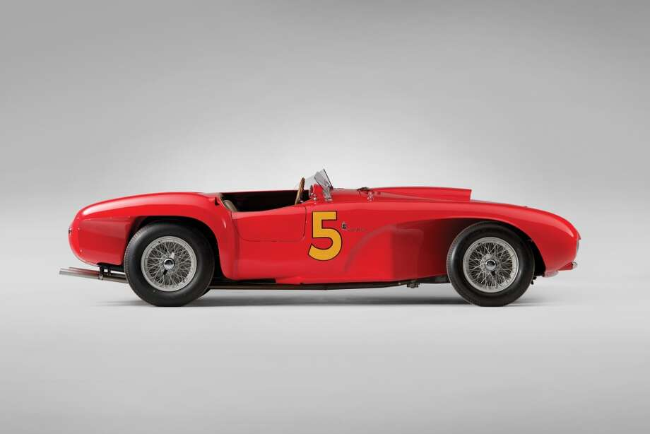 1953 Ferrari 375 MM Spider  This rare Ferrari isn't valued by RM Auction, but it could fetch more than $10 million at auction.
