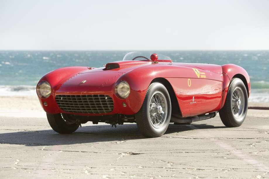 1954 Ferrari 500 Mondial Spider Series I  RM Auctions values this car at $2.75 to $3.25 million.